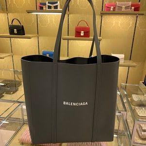 Gray Balenciaga small everyday tote